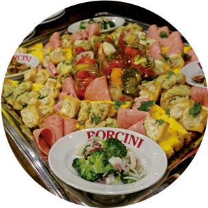 タヴェルナ・ポルチーニ名物 前菜10種盛り合わせ